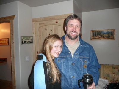 Taylor and The Teen Whisperer Mike Linderman - Trout Creek