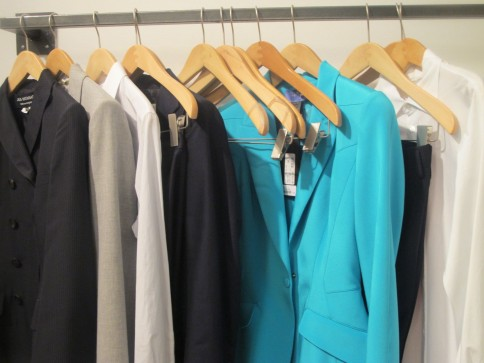 Clothes Waiting. I love how together it looks
