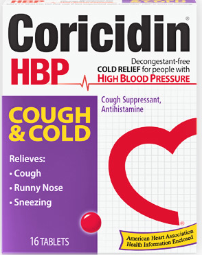 The cold med for people with high blood pressure.