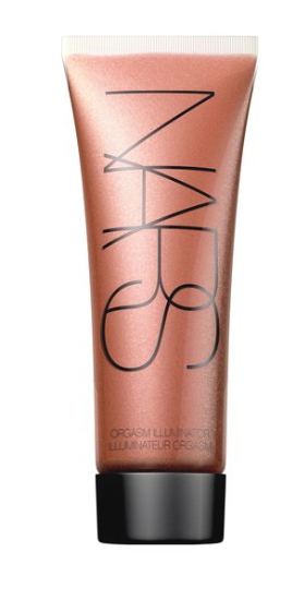 The color I use is called Orgasm. It just is. Nars has a whole line called that. The main thing is you do look all dewy and bright again.