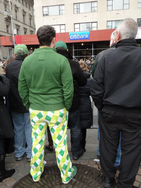 St. Patty's Color Blocking