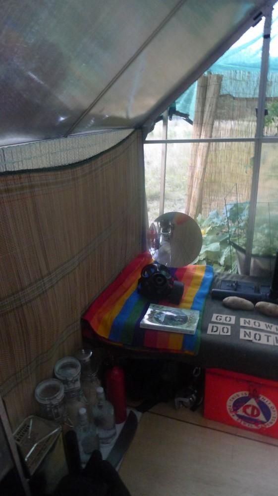 Adam's bed.