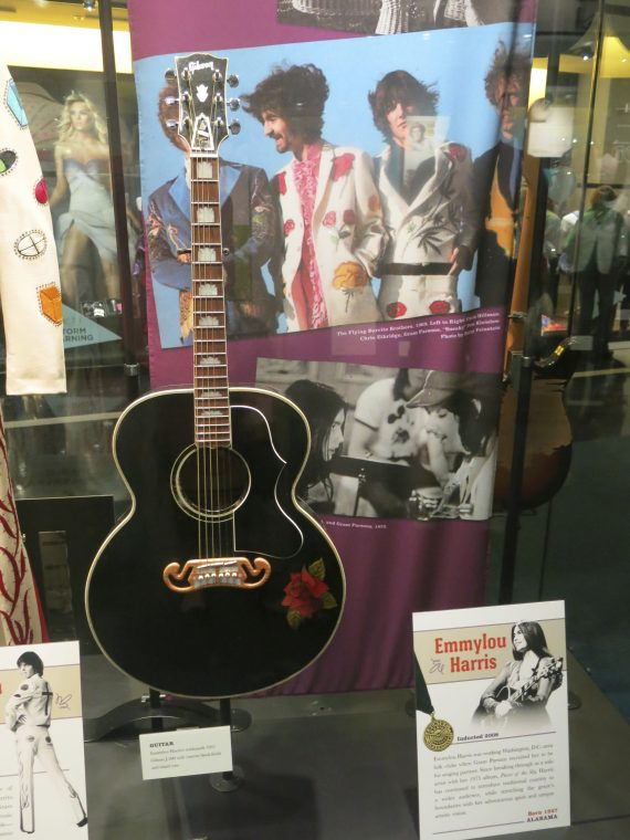 Emmy Lou Harris's guitar.