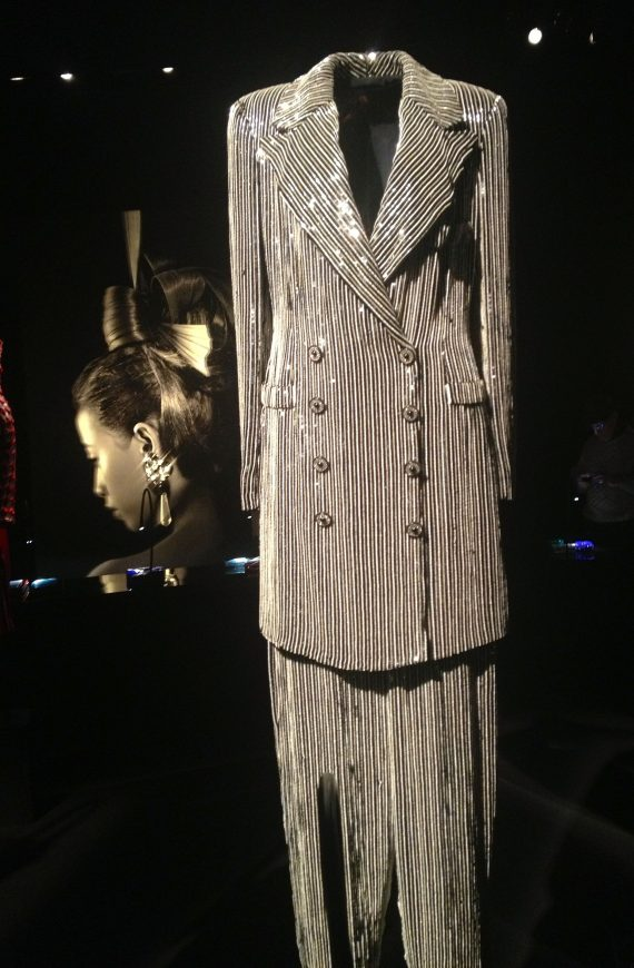 Sequined Gangster Suit.