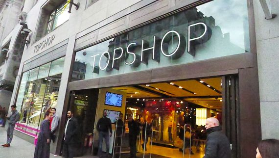 The real Top Shop. I disappeared into here for over an hour.