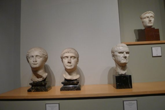 A few of his heads. But there were rooms of these. The museum is on four floors.
