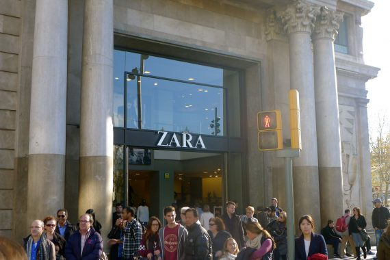 The Mother Ship. Zara started in Spain. This is a big one. It's the one place Lucy really wants to go.