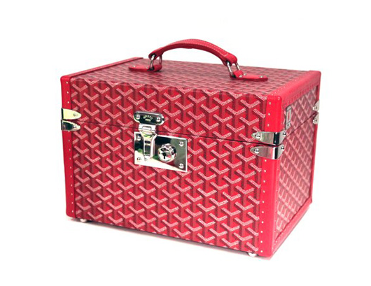 This is the total luxury item. I have developed a passion for train cases. I tend to get mine on ebay. This one is from Barneys. You can't even get it online. But you know - we can all dream.