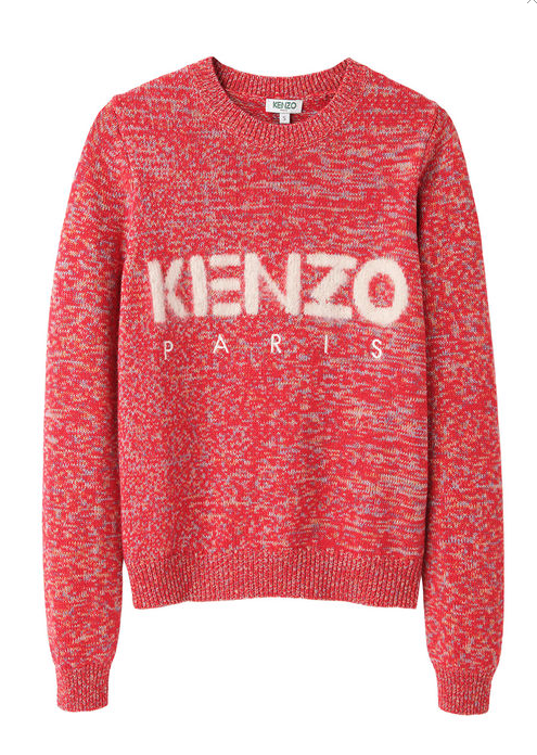 The sweater of the season, Kenzo's Logo Sweater. Now 30%off at La Garconne.