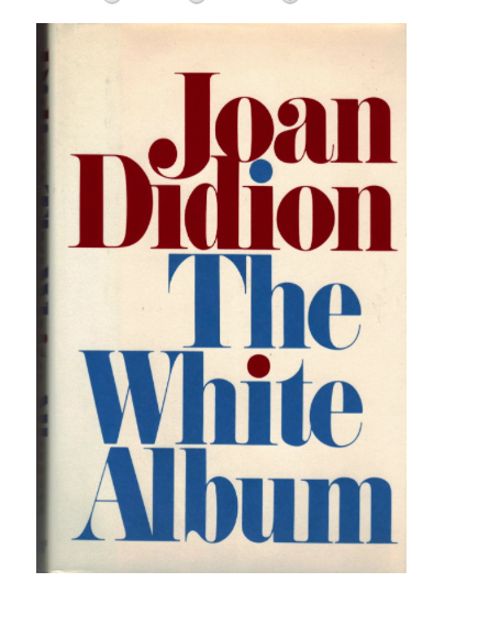 Maybe you prefer your white albums on the page - In that case buy a first edition of Joan Didion's White Album. On Abe books for a surprising $45.00.