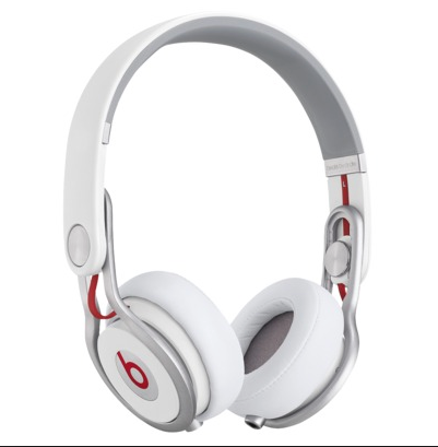 Keeping with the theme of ear coverings, why not some white Dr. Dre ear phones.