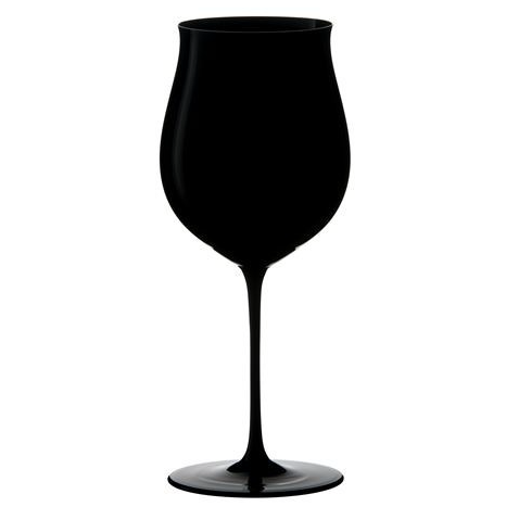 If you're passing on the black beer, pour whatever color wine you want in these great black goblets. Made by Reidel.  Nobody will know if you are drinking rose in the winter.  A good thing.