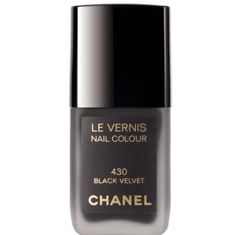 Stocking stuffer or a sweet thing to leave on her night stand to wake up to XMAS morning. A little bit goth, a little bit French, a little bit rock and roll.  Chanel Black