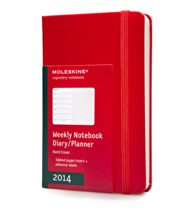 I happen to be Moleskin freak. I also think despite calendars on phones, there is nothing like an old fashion date book.
