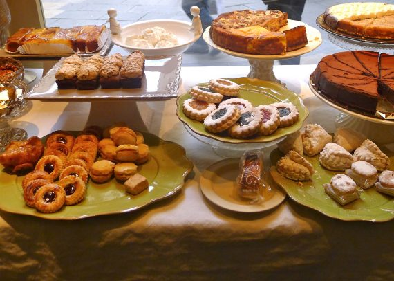 Sweets baked by nuns and monks at Caelum.