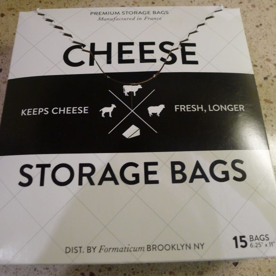These chess bags are great. They look nice in the fridge and they keep cheese much better than foil. Find them on Provisions Food52.