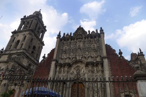 National Cathedral in the Explanda Del Zocalo