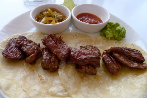 Steak tacos..we can't get enough