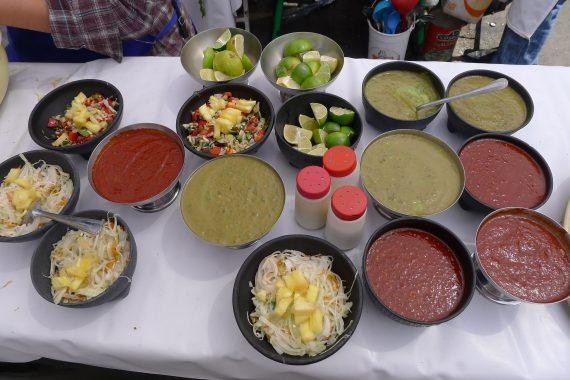 More salsas