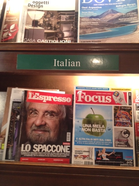Every magazine from everywhere. Come on Italian Forbes.