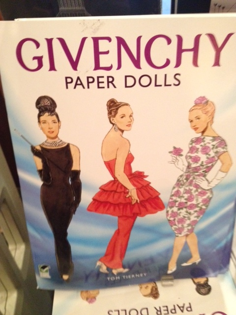 How could you not love a store that carries Octavio Paz and Givency paper dolls?