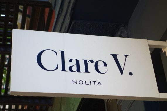 I had a destination,  Claire Vivier. A french name.