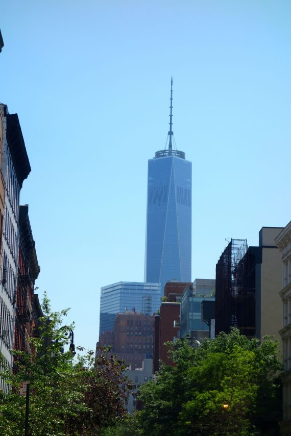 Now we have the Freedom Tower, which tells you could be nowhere but New York.