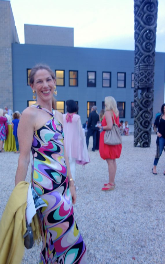 Gallery owner Christine Wachner