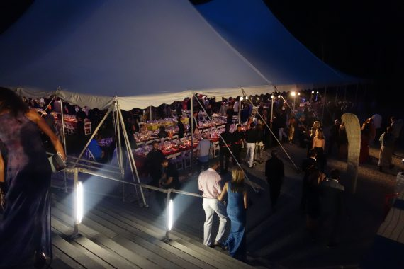 The Dinner Tent.