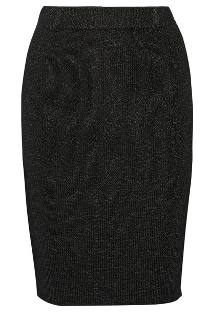 Calvin Klein knit skirt will be worn to death.