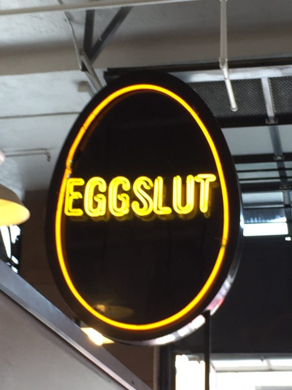 Eggslut says it all. Mind you the longest line was here.