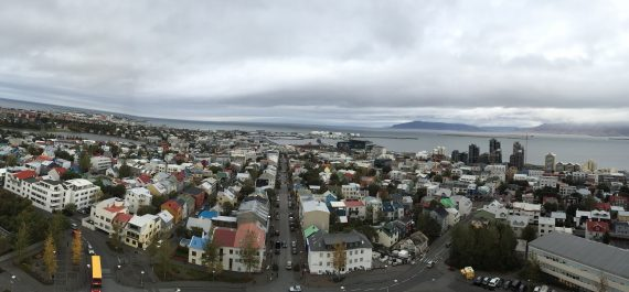 The view from the top o the church. Shot in panorama