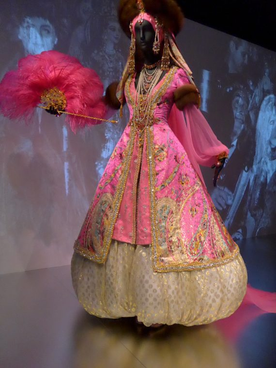 This is a very famous costume she had designed for The Bal Oriental in 1969
