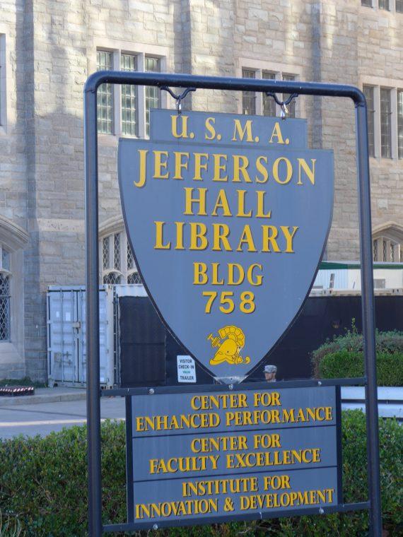 hudson library sign - 1
