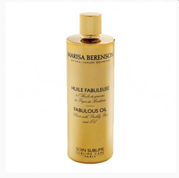 Face oils are all the rage. After all those years of keeping oil off your skin oil is the new cream. This is former model Marisa Berenson's version. If you can find it - let me know. It's on the web but hard to buy. If you pull it off you will be somebodies hero.