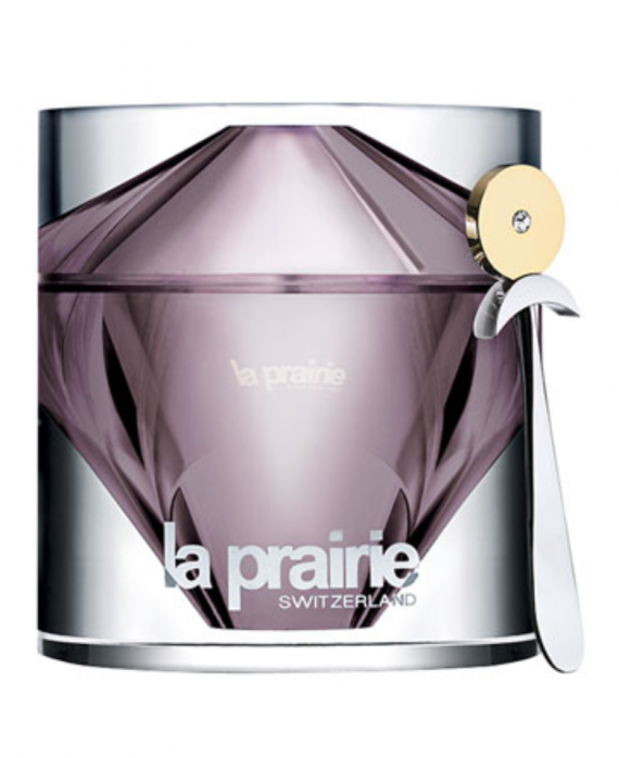 You can do something wacky and give someone the most expensive face cream in the world. La Prairie Women's Cellular Cream Platinum Rare. It costs 1,115.00.