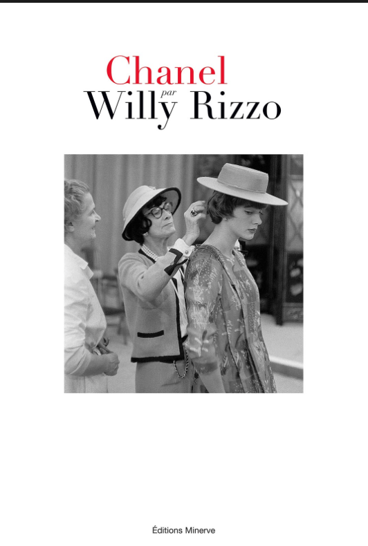 I'm a big WIlly Rizzo fan from way back when. His new book of photos of Chanel is wonderful. Just when you think you've seen all the Chanel photos around, this batch pops up. Iconic and divine.