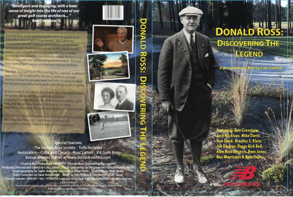For that golf fanatic - Cob Carlson's award winning doc on Donald Ross. I can't tell you why its good, but trust me it is. Cob did it and he knows a lot and make great films.
