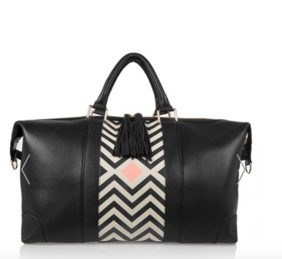 If not a full set of luggage then at least an overnight bag, love this one from Net A Porter.