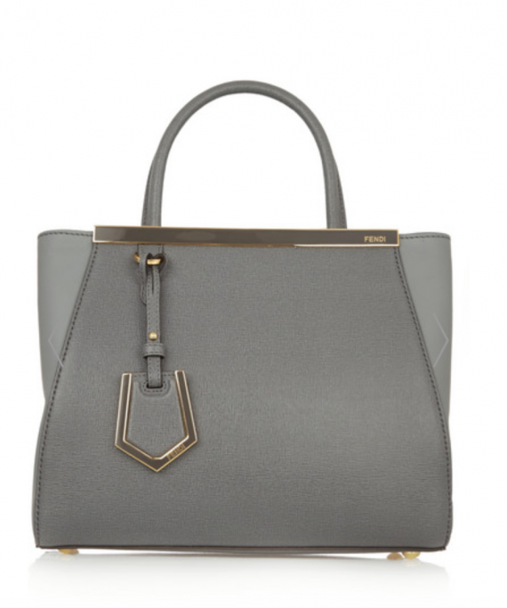 I wouldn't be me if I didn't suggest a purse. I'm loving Fendi of late and this little Grey2Jours is quite swell. Also at Net A Porter.