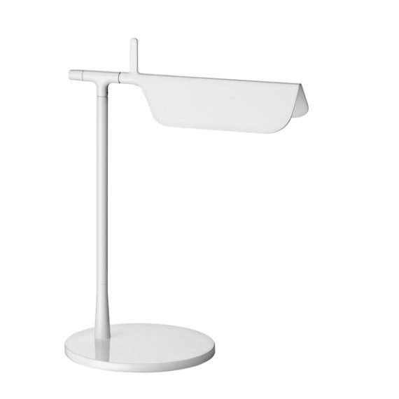 A good desk lamp - white, simple elegant. Home or office. At JanGeorge