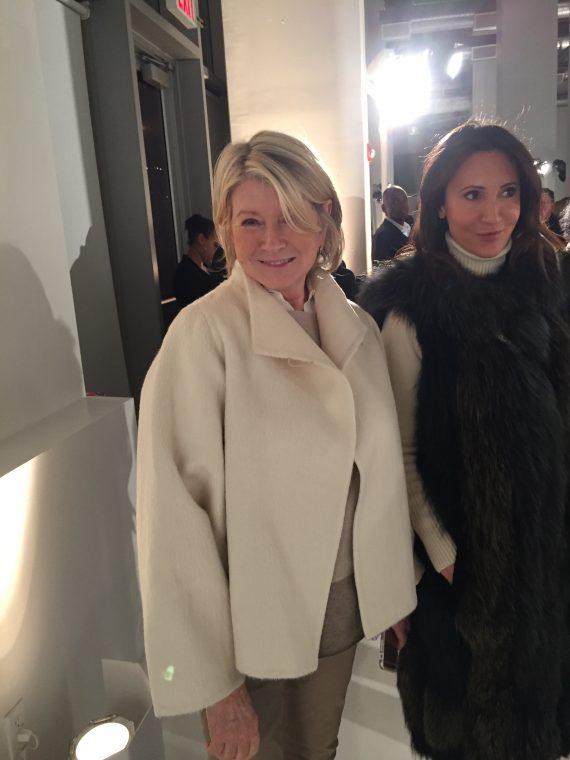 Martha Stewart another longtime Rucci fan.