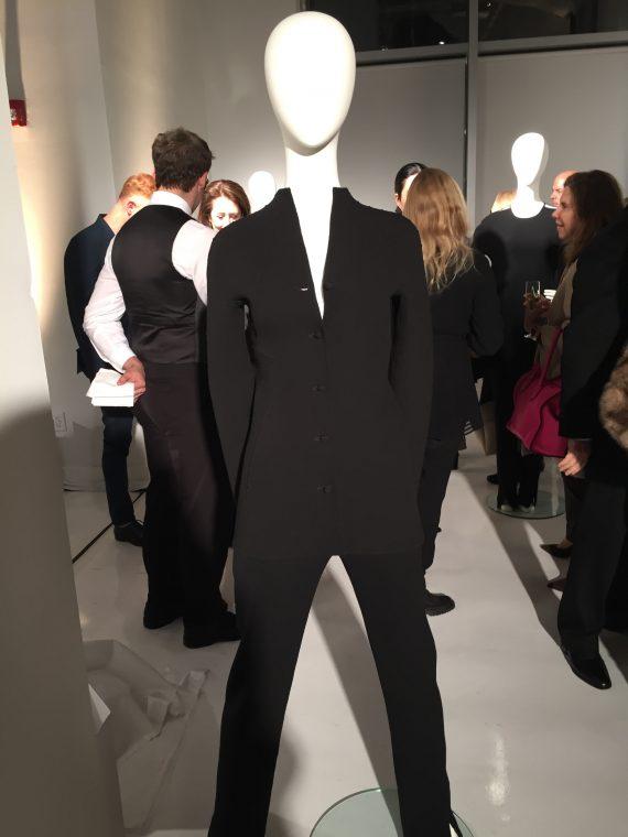 simple black suit - 1