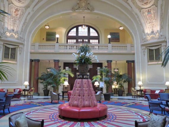 hotel lobby - 1