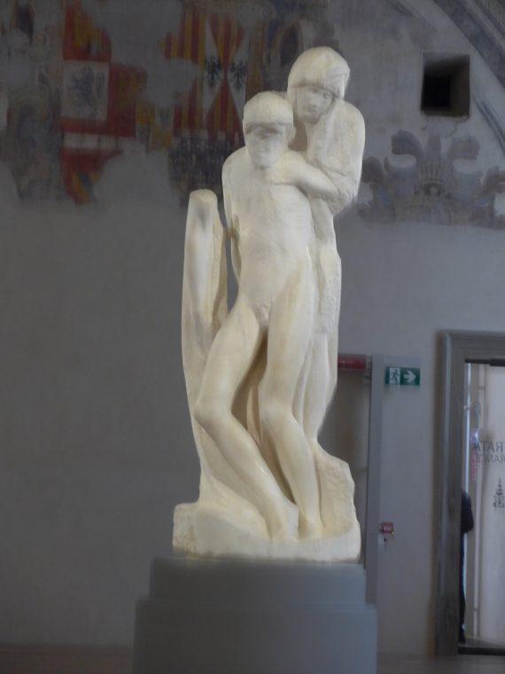 Rondannini Pieta by Michelangelo