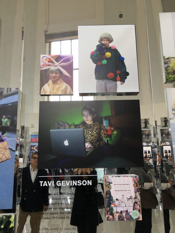 They started with Bill Cunningham but then focused on many of the modern bloggers. Here is Tavi Gevinson, someone who has always interested me.