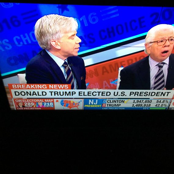 Carl Bernstein was shocked.