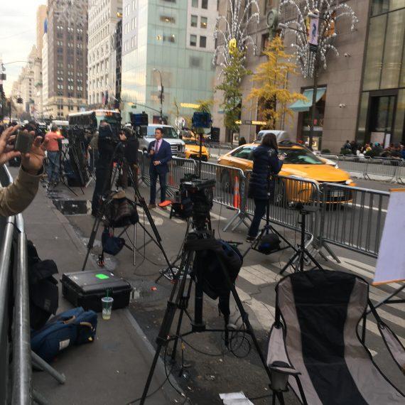 More news crews