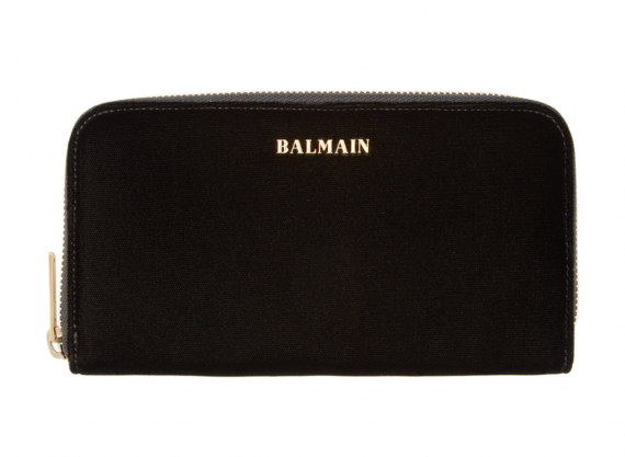 And after you have done all your Christmas shopping pick up a new velvet Balmain wallet. On sale at Ssence