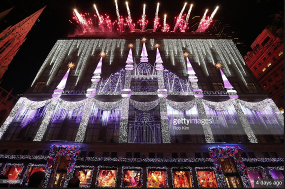 This is what it looks like at night. Not my shot. Getty. See the watermark!